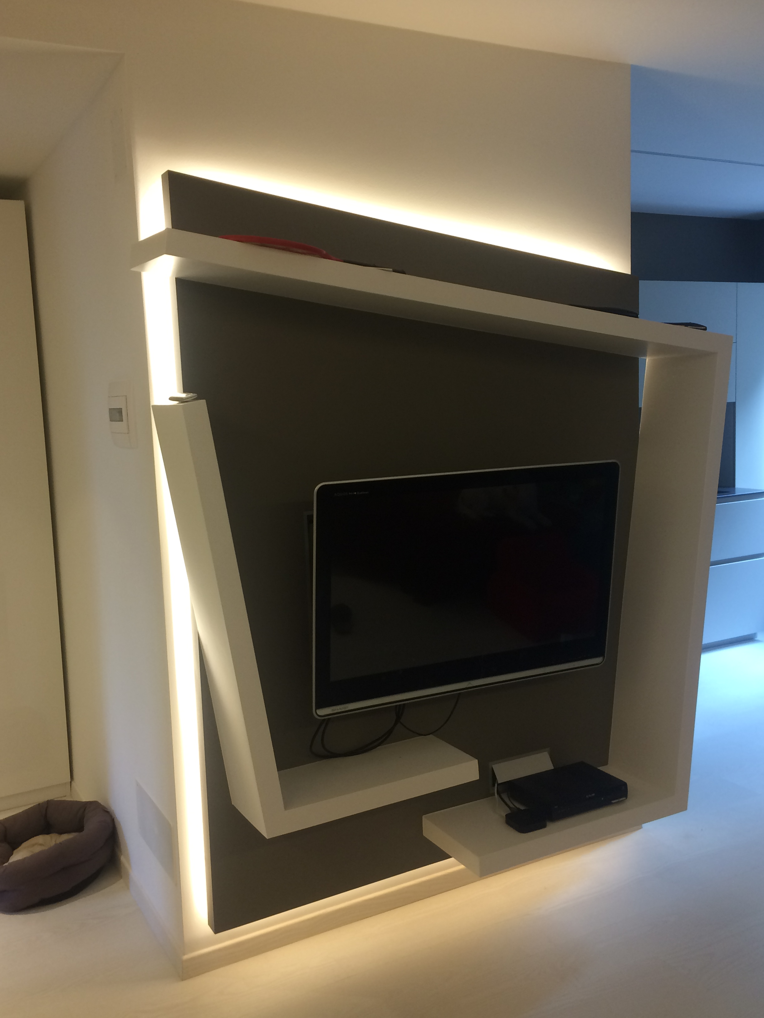 Porta tv in cartongesso - Porta tv in cartongesso ...