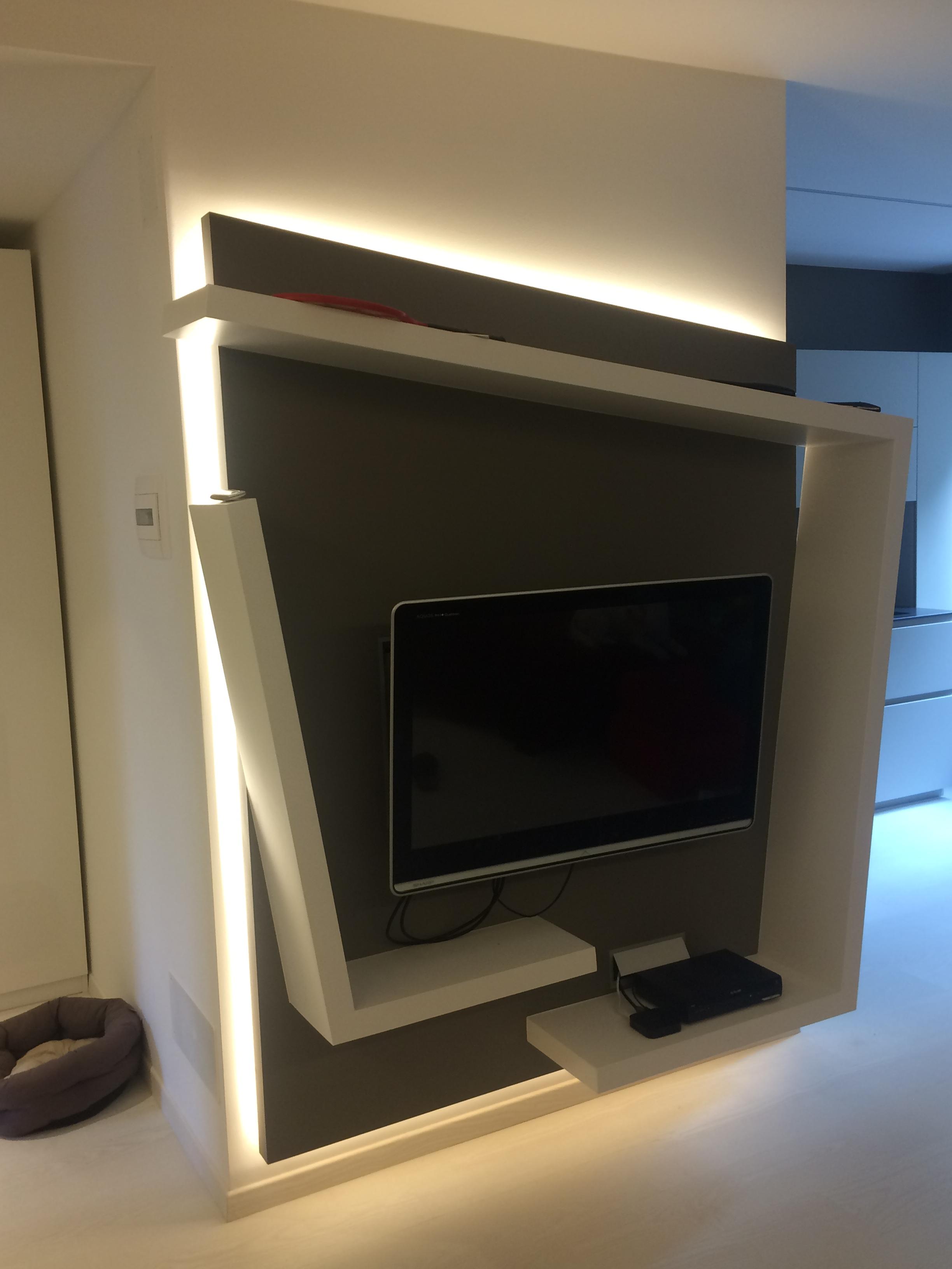 Porta Tv In Cartongesso